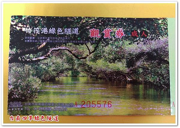台南四草綠色隧道 02