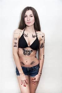 女人的紋身設計和樣式