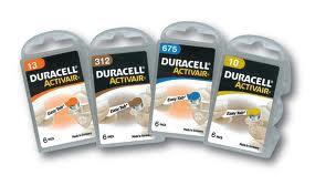 金頂助聽器電池-4種規格13-312-675-10號
