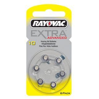 Size 10 Rayovac battery