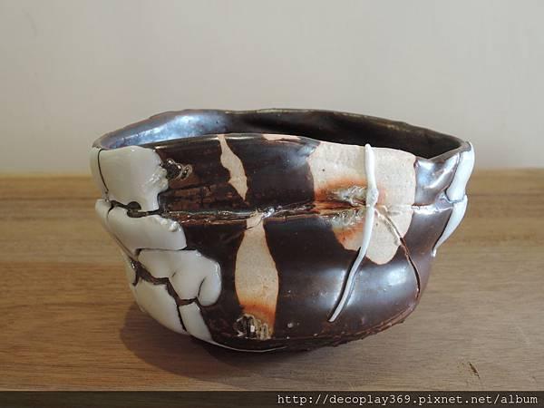 丹波白釉茶碗