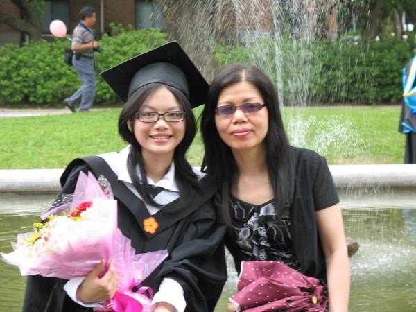 我&媽咪&玫瑰花束