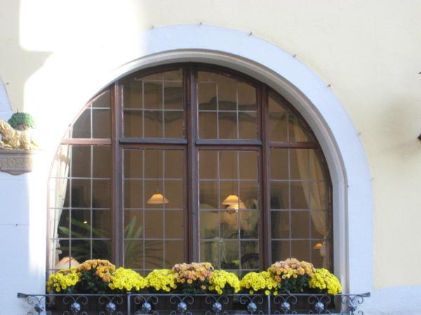 某戶人家窗戶的一角