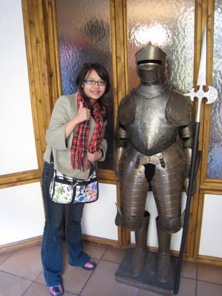 我與旅館盔甲