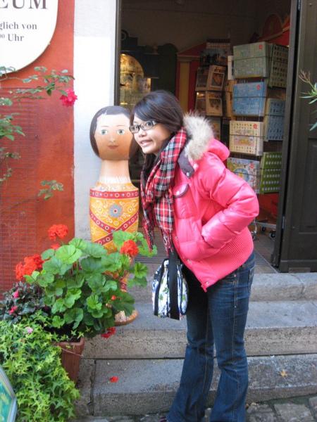 我與有趣的俄羅斯娃娃