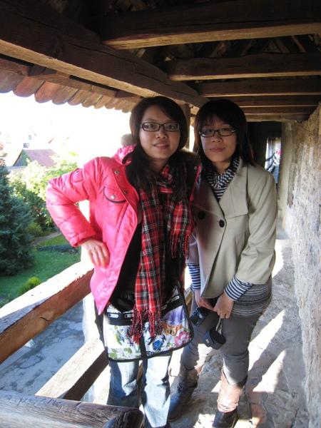 我與阿佳與老城牆