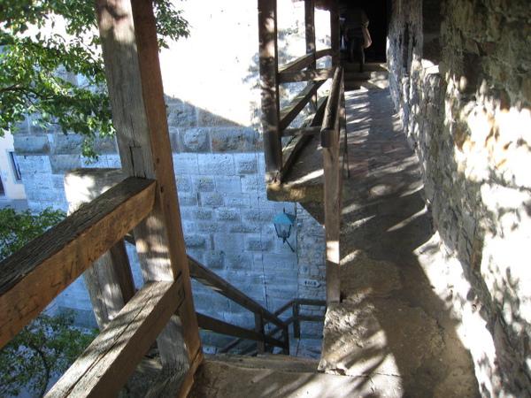 老城牆的樓梯