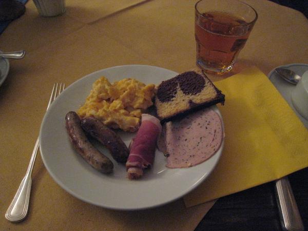 簡單的早餐