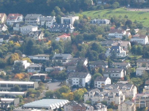 對面的萊茵河谷地