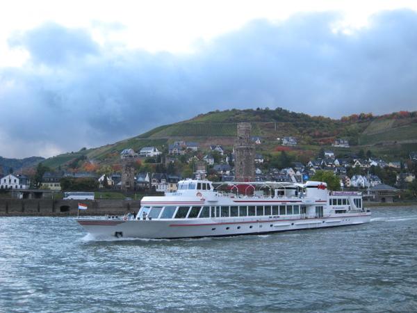 萊茵河遊船結束