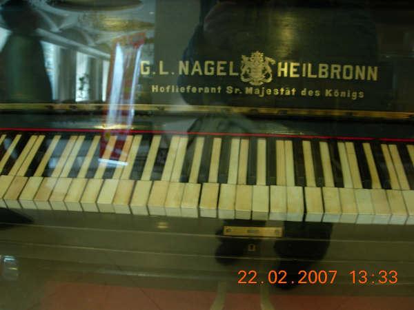 古董鋼琴--18xx年來自德國宮廷的