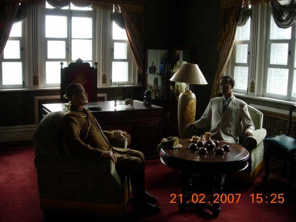偽皇宮一角--.溥儀的書房