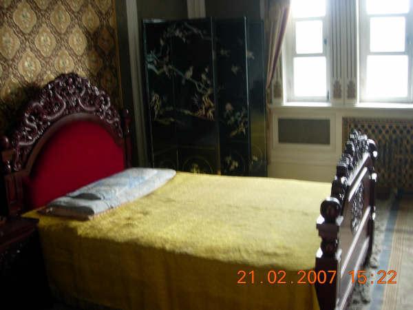偽皇宮一角--溥儀的房間