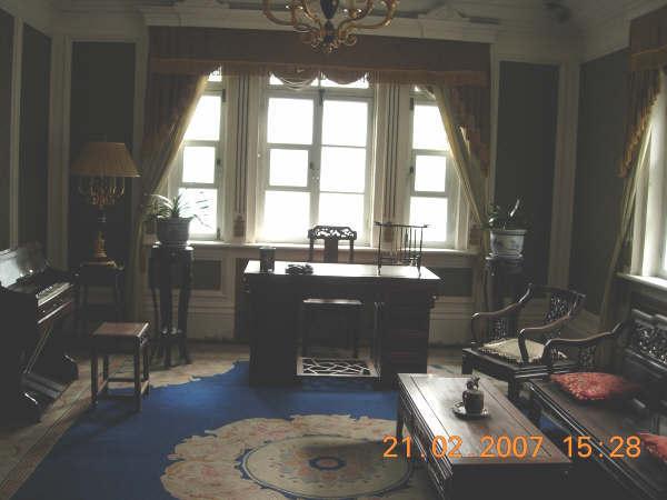偽皇宮一角--譚玉齡的書房