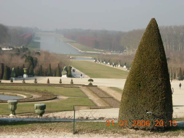 冬天的凡爾賽花園
