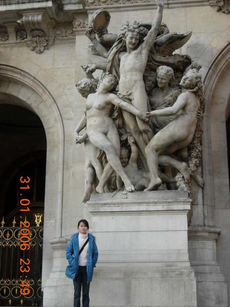 巴黎歌劇院一角