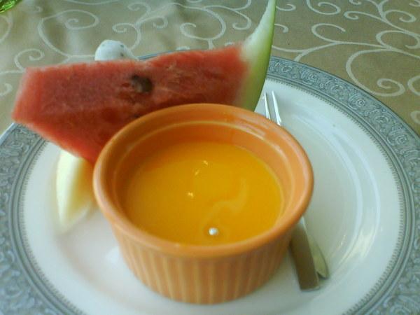 甜點一號--芒果奶酪