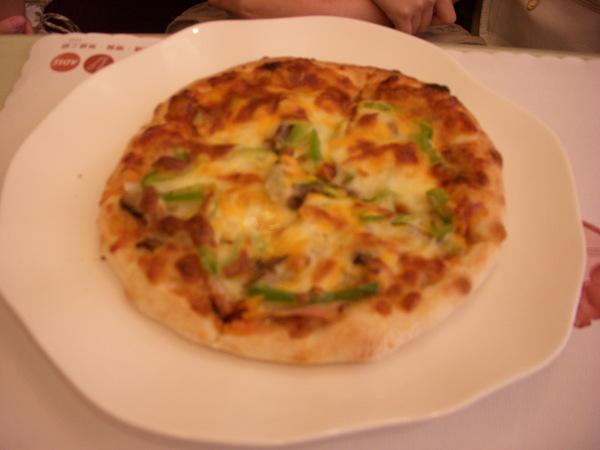 pa的主餐--日式燒肉pizza