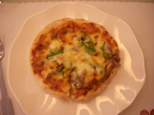 糖的主餐--總匯pizza