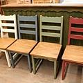 #310001~04 $3000/張 色彩舊化椅