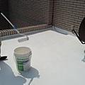 施做過程-用滾筒刷 共做2道-3道 每一道乾燥時間約6小時