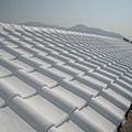 屋瓦材質施做過程
