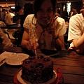 壽星切蛋糕囉~
