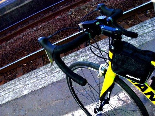 DEFY在台南站月台