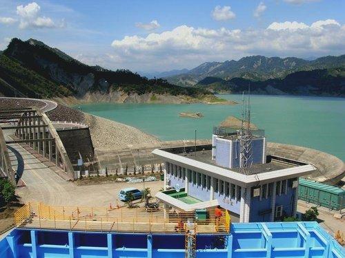 由觀景台眺望南化水庫