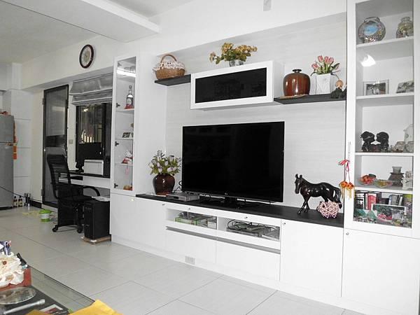 系統家具電視櫃書櫃