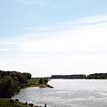 5-17 Schloss Benrath 附近的萊茵河
