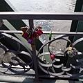 橋上一堆鎖頭