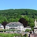 山上就是哲人之路 Philosophenweg