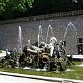 城堡花園內的噴泉