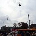 哥本哈根火車站對面的Tivoli樂園