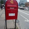 丹麥的郵筒