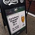 來到Calsberg的故鄉就一定要喝一下!