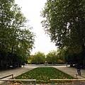 布魯塞爾皇宮前的花園