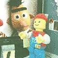 相片蒙太奇-樂高人與Bert相見歡~