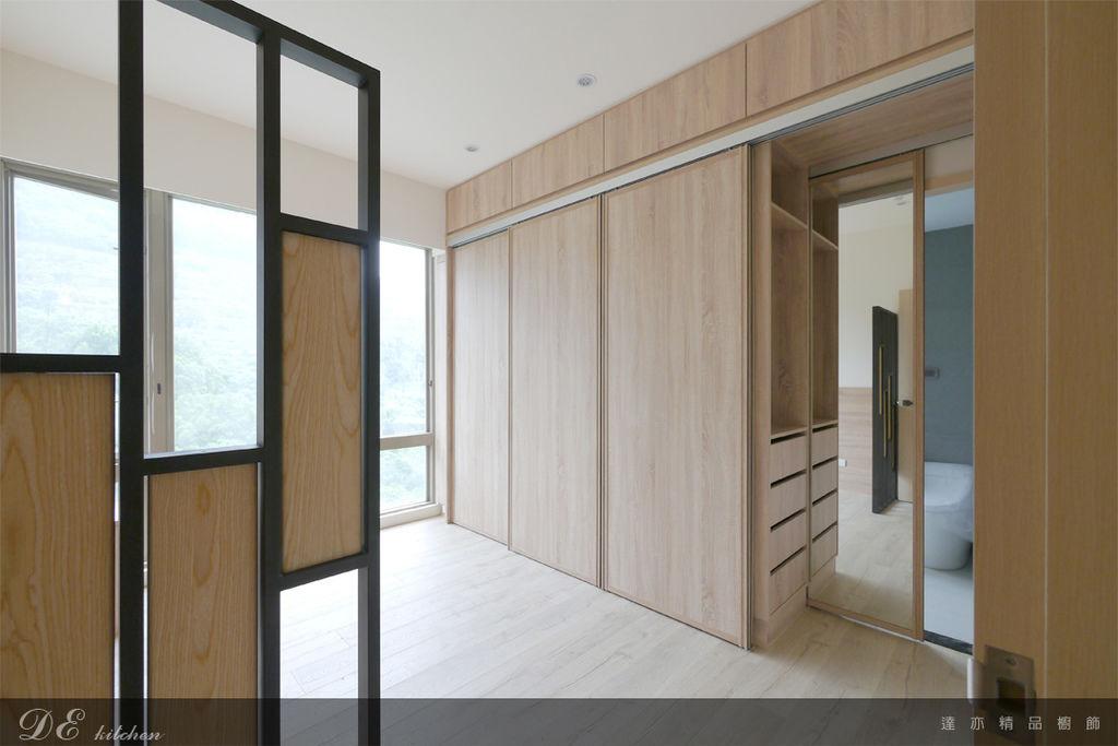 「系統家具 Furniture design 」台北市士林區 中山北路七段 主臥房 (3).jpg