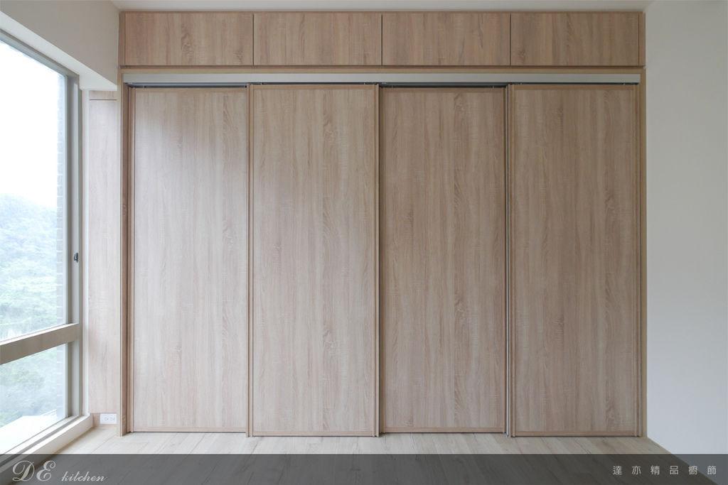 「系統家具 Furniture design 」台北市士林區 中山北路七段 主臥房 (4).jpg