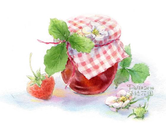 strawberry jam2014deliagarden
