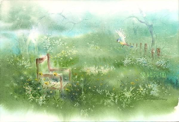 霧醒花兒開deliagarden2014