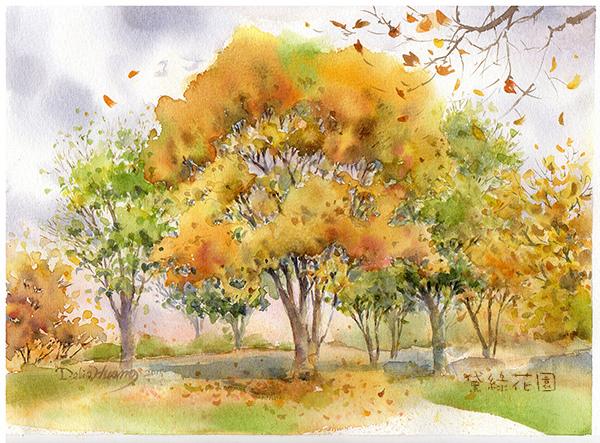 阿里山紅榨槭deliagarden2015