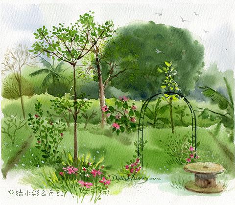 20160320花園寫生
