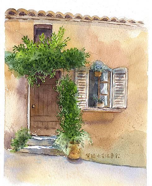門上的垂蔓deliagarden2016.jpg