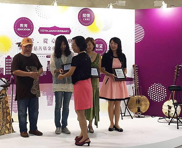 7受獎(由映慧老師頒授)