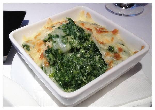 奶油焗菠菜