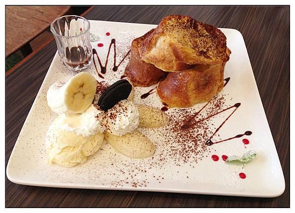 蕉香巧克力法式布丁吐司200-2