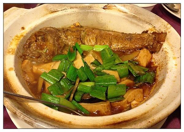 紅燒馬頭魚豆腐650
